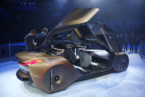 la voiture du futur imagin e par bmw pou. Black Bedroom Furniture Sets. Home Design Ideas
