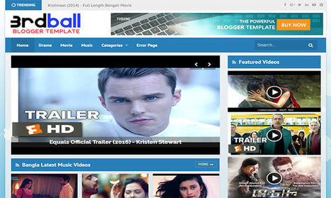 3rdball Blogger Template | Blogger themes | Scoop.it