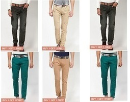Latest Offer: United Colors of Benetton Trousers Set of 2 from Rs. 745 | Shopping | Scoop.it