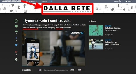 Come ti maschero una pubblicità (sponsored content de noantri) - DataMediaHub | Giornalismo Digitale | Scoop.it