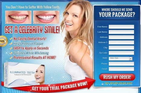 Illuminated Teeth Review - GET FREE TRIAL SUPPLIS LIMITED!!! | TEETH CARE GUDDU | Scoop.it