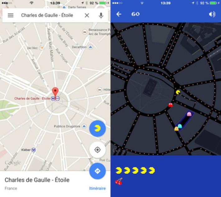 """PacMan sur Google Maps   Veille Techno et Informatique """"AutreMent""""   Scoop.it"""
