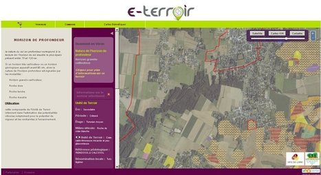 Wine Paper | « e-terroir », la nouvelle application cartographique d'InterLoire | Actualité du marketing digital | Scoop.it