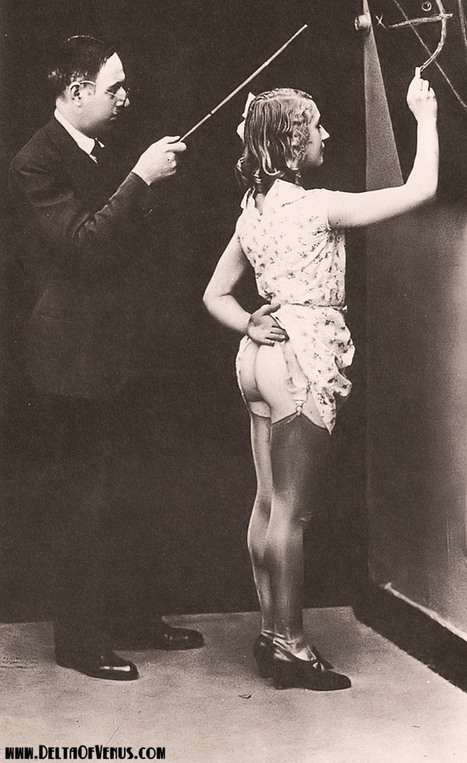 a daddy dom's world — vintage-eros: Appealing Geometry. 1920s France,... | vintage nudes | Scoop.it