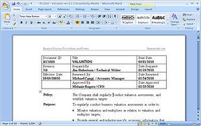 MS Word Policies and Procedures Templates | Policies, Procedures and Processes | Scoop.it