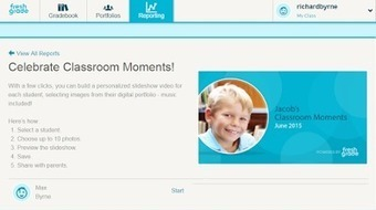 Free Technology for Teachers: FreshGrade Helps You Quickly Create Video Slideshows of Your Students' Best Work | Keeping up with Ed Tech | Scoop.it