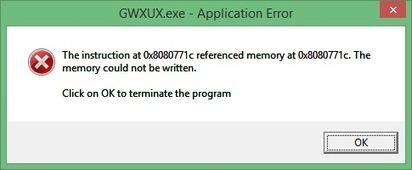 [FIX] GWXUX.exe Application Error in Windows 10 - PC Error Repair Solutions n Guide   Fix Windows Error   Scoop.it