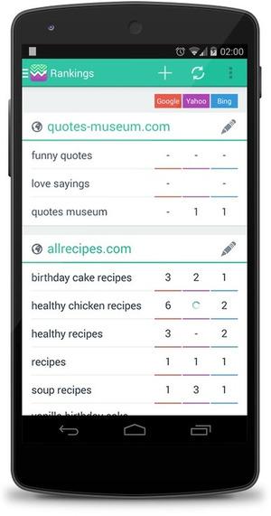 SERP Mojo : une App mobile pour suivre vos positionnements SEO … partout ! | Search engine optimization : SEO | Scoop.it