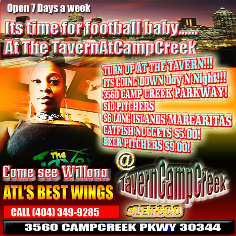 Its time for lunch at #TheTavernAtCampCreek #LetsGo | GetAtMe | Scoop.it