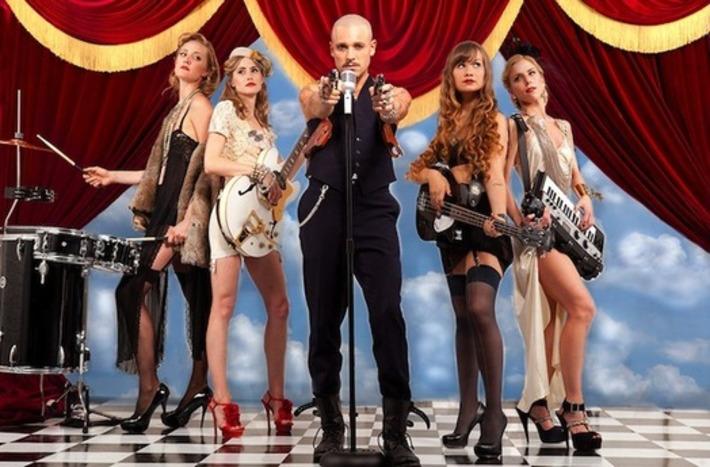 Backbeat: Lingerie-Clad Musicians + Adult-Themed Lyrics + Art Rock + Weaponry = Roma! | Billboard.biz | Lingerie Love | Scoop.it