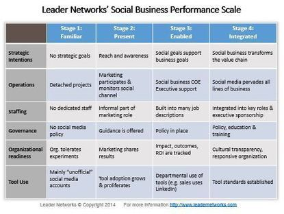 Highlights from the 2014 Social Business Benchmark Study - Leader Networks | amd1510 | Scoop.it