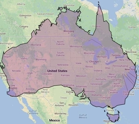17 Maps Of Australia That Will Make Your Mind Boggle | Visual & digital texts | Scoop.it