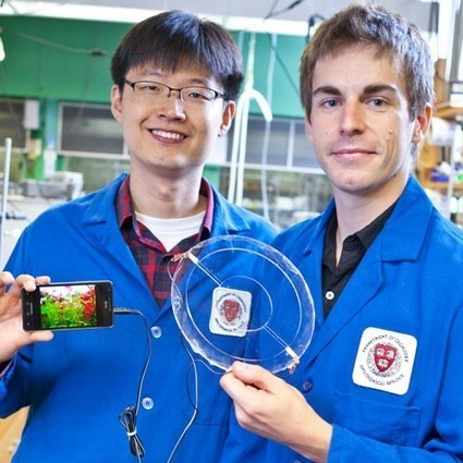Researchers build an audio speaker out of stretchy transparent gel | What's New in Technology | Scoop.it