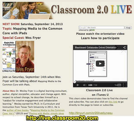 Moving at the Speed of Creativity | Map Media to the Common Core with iPads: Classroom 2.0 LIVE on Saturday! | Digital 220 | Scoop.it
