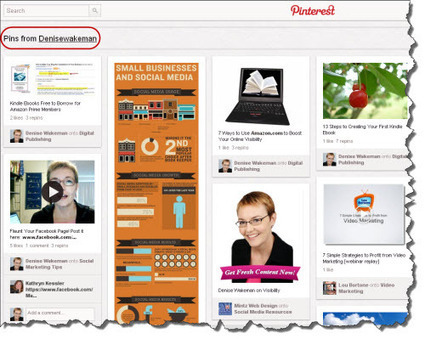 Top 5 Reasons You Need To Use Pinterest With Your Blog | Visual Content Strategy | Scoop.it