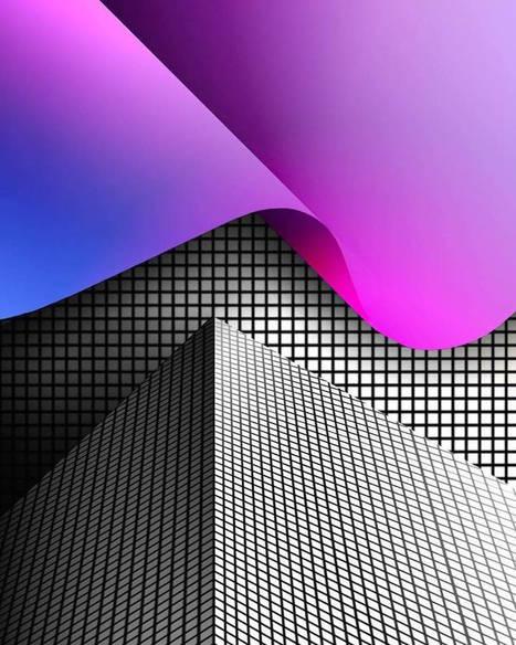 Surreal and Geometric iPhone Design Art   Art numérique   Scoop.it