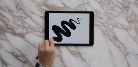 Major iOS8 feature - screens recognize object touch size - Will Make Drawing on Your Devices Way More Intuitive | 4D Pipeline - trends & breaking news in Visualization, Virtual Reality, Augmented Reality, 3D, Mobile, and CAD. | Scoop.it