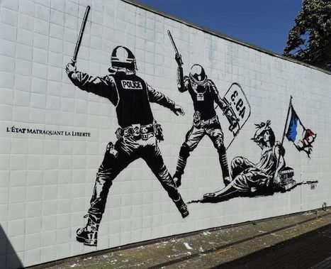 Depuis quelques jours, la polémique enfle autour de l'œuvre de Goin.#streetart | Street-art Design Grafititi et Gros minet | Scoop.it