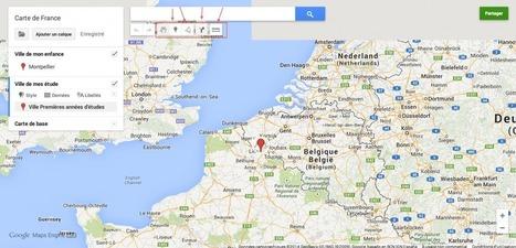 Créer une carte personnalisée avec google maps qui tue - | Améliorer son image sur le web | Scoop.it