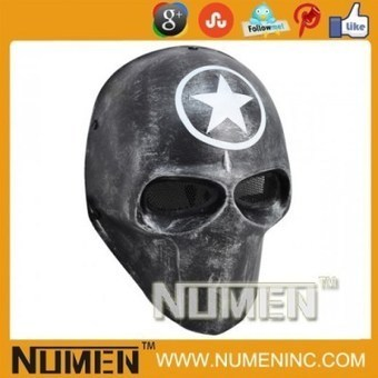 """Full Face Costume """"Star"""" Army of two mask airsoft mask 