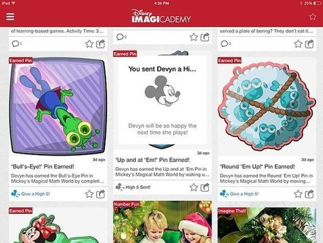 Disney Imagicademy Apps - POPSUGAR | Education Technology | Scoop.it