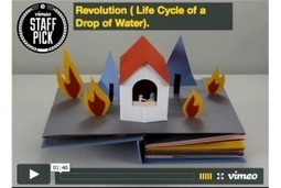 The Life-Cycle of a Single Water Drop, in a Pop-Up Book Animated in Stop-Motion | Creatively Teaching: Arts Integration | Scoop.it