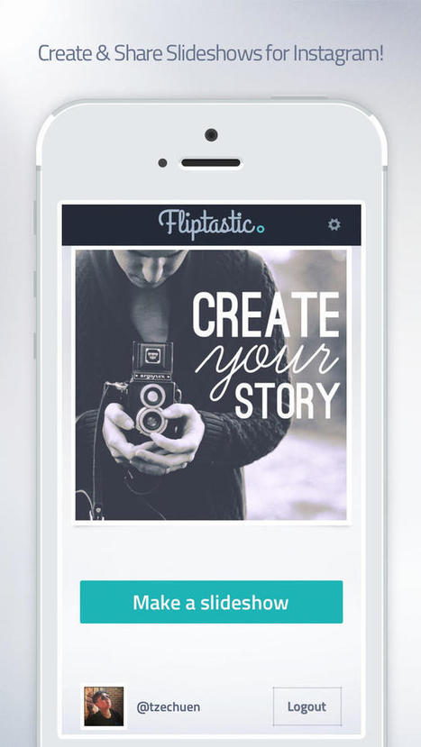 Price Drop: Fliptastic - Slideshow Maker for Instagram (Photography) | Manuel_dax | Scoop.it