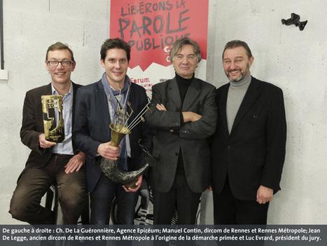 Rennes Métropole reçoit le 25e Grand Prix Cap'Com | Breizh & Territoires | Scoop.it