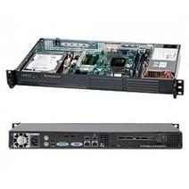 "Supermicro 1U 502L D525 Atom, 1.8GHz 1MB Cache, 4GB Max RAM, 1 3.5"" Fixed Disk Server   Supermicro Servers   Scoop.it"