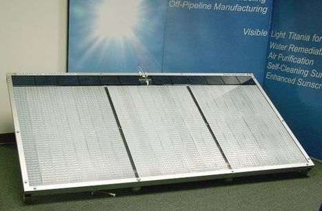 NANOPTEK SHG300™, le générateur d'hydrogène solaire | Gestion des services aux usagers | Scoop.it