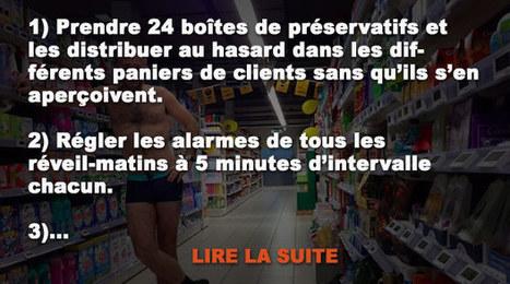 14 façons de tuer le temps au supermarché en attendant votre copine! | Réactions en chaîne | Scoop.it