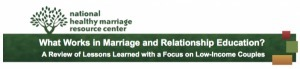 """REPORT: """"What Works in Marriage and Relationship Education ... 