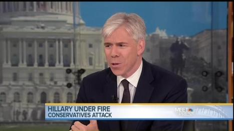 NBC's David Gregory to Reince Priebus: Is Hillary Clinton 'The Candidate That You...Most Fear?'   News You Can Use - NO PINKSLIME   Scoop.it