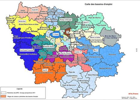 La Région adopte une carte unique des bassins d'emploi en Ile-de-France | Le Grand Paris sous toutes les coutures | Scoop.it