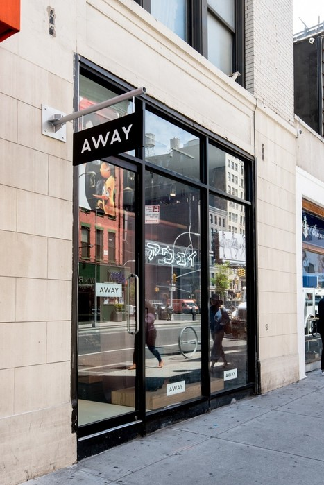 Away Opens A Concept Store Highlighting Global Destinations - Design Milk | itsyourbiz - Travel - Enjoy Life! | Scoop.it
