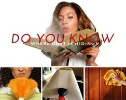 Top 10 Places in Your Home Where Dust Is Hiding! | home | Scoop.it