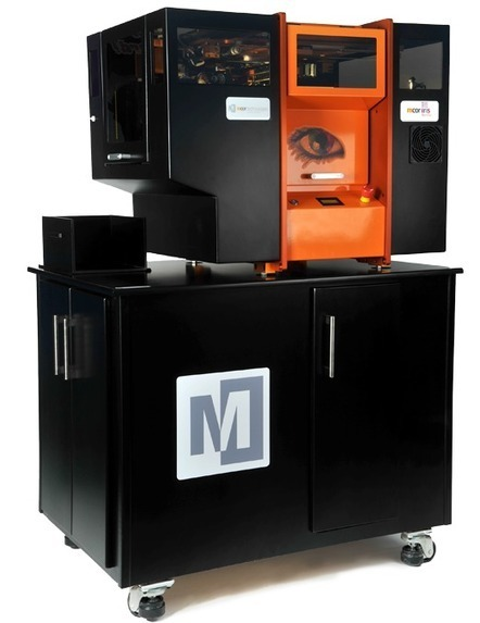 Mcor IRIS | Mcor Technologies | DIY Manufacturing / 3d Printing | Scoop.it