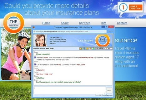 Live Chat Benefits for Insurance Websites   Live Chat Blog   Live Chat for Business   Scoop.it
