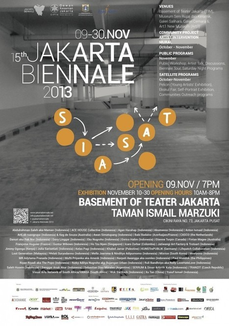 Re-exploring the urban environment: Indonesian artists at Jakarta Biennale 2013 – picture feast | Art Radar Asia | Year 7 Geography - Liveability: Urban Indonesia | Scoop.it