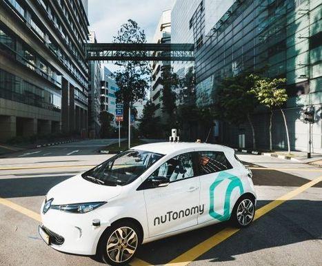 Les premiers taxis en conduite autonome roulent à Singapour   Vous avez dit Innovation ?   Scoop.it