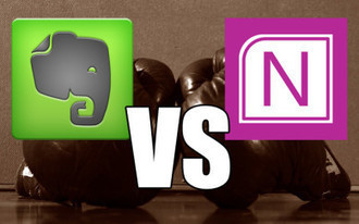 Note-taking Showdown: Evernote vs OneNote | Man Meets Machine | Scoop.it