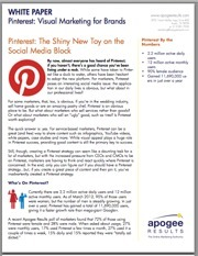 White Paper: Pinterest and The Power of Visual Marketing | 21st Century Literacy and Learning | Scoop.it