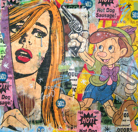 Greg Gossel   Mashupper   Collage   les Artistes du Web   Scoop.it