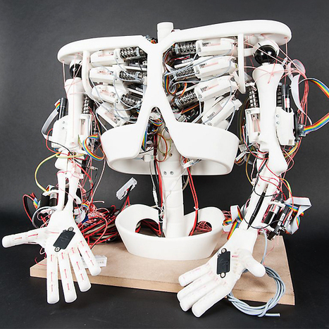 "Swiss researchers working to build robotic toddler by 2013 | L'impresa ""mobile"" 
