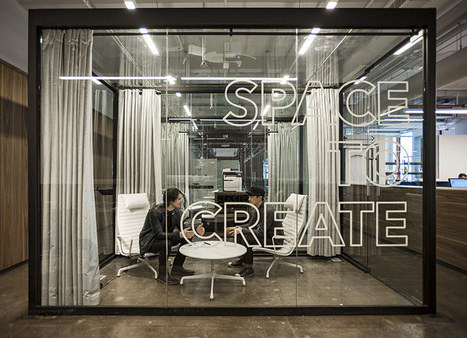 fiftythree's new york office features transparent spaces to create - designboom | architecture & design magazine | Brainstorming & créativité | Scoop.it