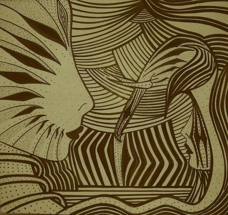 Delphine Ralouk D | Illustrator | les Artistes du Web | Scoop.it
