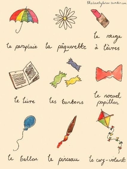 Quelques mots | FLE enfants | Scoop.it