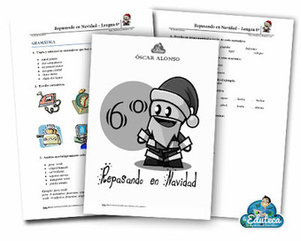 Ejercicios de Lengua para repasar en Navidad | Español para los más pequeños | Scoop.it