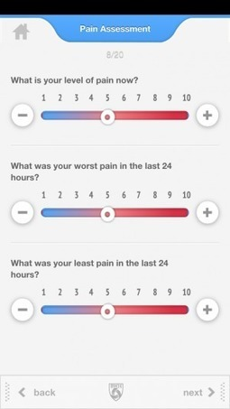 Brigham and Women's Hospital is testing an app to manage chronic pain | Latest mHealth News | Scoop.it