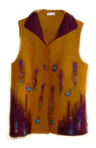 Lovely felt garments by Jan Osher | Living Felt | Nuno Felting | Scoop.it